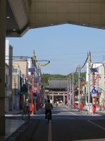 Masumida Shrine and Honmachi Street