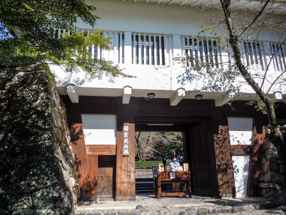 Entrance of Inuyama Castle