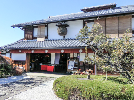 Folk handicraft of Magome